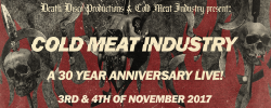 Cold Meat Industry – 30 Years Anniversary live!