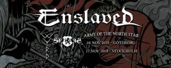 Army of the North Star Tour: Enslaved, Gaahls Wyrd, Skogen