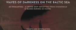 Running order WAVES OF DARKNESS ON THE BALTIC SEA