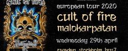 Cult of Fire till Stockholm